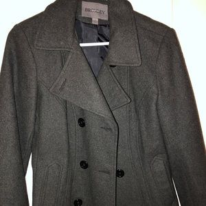 Bromley wool pea coat! Only worn once!!